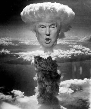 Explosive Trump - Idiot in charge!